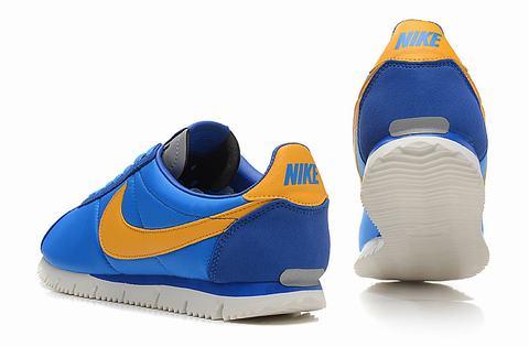 Nike Cortez Jaune Et Bleu